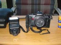 Up for grabs. Minolta X370n with Fstop 1.7 50mm lense