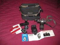 I have the following movie camera equipment for sale.