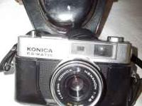 Minolta SRT101 Camera...F=58mm lens with case...$25.00
