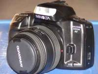 Up for sale is a USED but in GREAT Condition Minolta