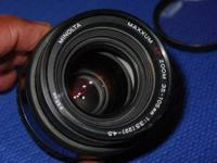 I have this Minolta/Maxxum AF lens available. 35-105mm