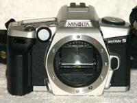 I have a Minolta Maxxum 5 QD 35mm SLR camera with a