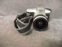 selling my MINOLTA MAXXUM 5 FILM CAMERA and MINOLTA