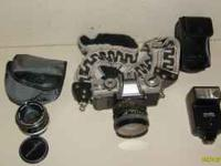 Selling one Minolta XG-M 35mm film camera. A good SLR