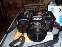 MINOLTA X-700 35MM CAMERA USED VERY LITLE WITH SUPER