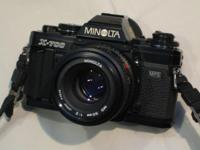 For Sale is a Used (All mint condition) Minolta X-700