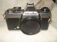 I have a Minolta XD 35mm camera for sale. It is in