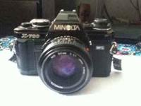 Hi im saling a minolta x-700 for $50 o.b.o. it works if