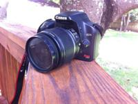 MINT condition Canon Rebel Xsi with 18-55mm lens.