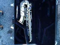 I have a MINT CONDITION ALTO SAXOPHONE for sale. It