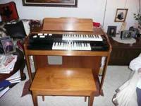 I have in mint condition a dual- row electric Lowrey