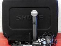 We have one of the newly released Shure GLX-D Wireless
