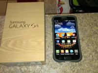 MINT GALAXY S4 16 GB WITH PROTECTIVE CASE, PROTECTIVE