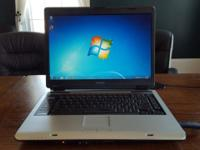 For sale is my used Toshiba laptop. It works great and
