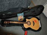 I have a Yamaha APX500 acoustic/electric guitar. It's