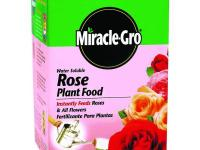 Miracle-Gro 1.5 lb. Rose Plant Food is water soluble