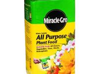 Use Miracle-Gro 5 lb. Water-Soluble All-Purpose Plant