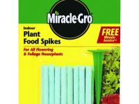 Miracle-Gro 1.1 oz. Indoor Plant Food Spikes are for
