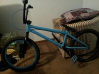 Here I have a mirraco bmx bike. The bike is in good
