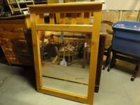 mirror measures 27 x 33 with frame 33 x 48 call or text