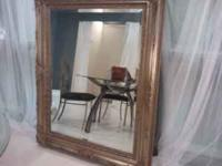 Beautiful mirror! Perfect condition!! Call  if