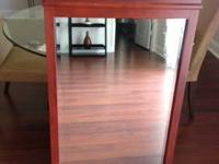Huge vintage mahogany mirror. Compare at $400. to $500.