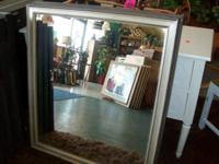 Hefty mirror 34x39H. 3 readily available, cost per