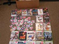 UP FOR SALE IS A BOX FULL OF XBOX 360, PS3, PSP  AND