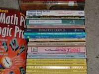 Whole box of children's (elementary to teen age) books,