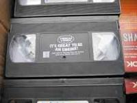 Misc DVD's & VHS tapes for sale. VHS tapes (12 tapes)