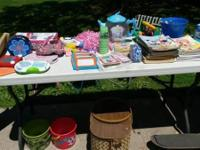 Items that did not sell yet from our rummage sale: