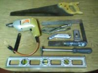 For Sale: Misc. Tools 1.) 1970s Sandvik wood handle 20