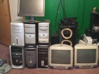 I have for sale an option of computer towers and a