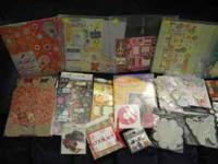 Scrap Booking box of misc. items for sales. Asking $30