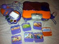 misc toddler toys all good condition v-smile with 7