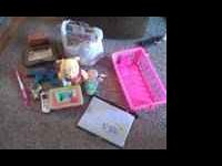 Misc toy lot - baby winnie the pooh that walks and