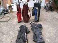 Misc. used golf clubs - choice of $2 each. Free golf