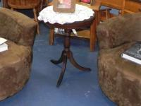 MISC. FURNITURE ....Hall tree with antique
