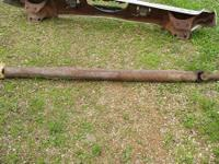 Drive shaft-$50.  Grill-$50 Has one bent piece, do not