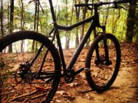 For sale is a Misfit Dissent Singlespeed 29er that I