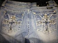 I have 1 pair of miss me jeans in good use condition