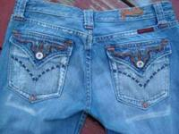 Wonderful pair of Miss Me Jeans. Distressed with