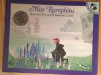 Brand New! Gift Quality! Miss Rumphius Paperback