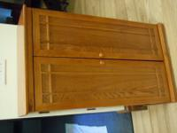 Mission media cabinet from Sturbridge Yankee Workshop.