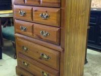 Mitch 100- Lenoir House Chest of Drawers - SZ 46H x 34W