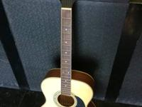 "Mitchell MO-100S/PK Accoustic Guitar  ""GREAT"