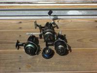 I have 3 old Mitchell fishing reels for sale. They are