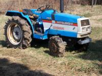 Mitsubishi MT2501D four wheel drive, 30 horsepower, 4