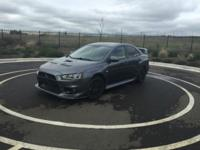 Hi I am selling my Evo x because I have a baby on the