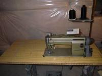 Model LS2-210 Needle feed machine with auto lockstich,
